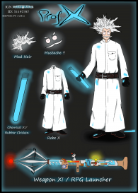 >> Check out my own made ROS set- The Professor X Set !!!